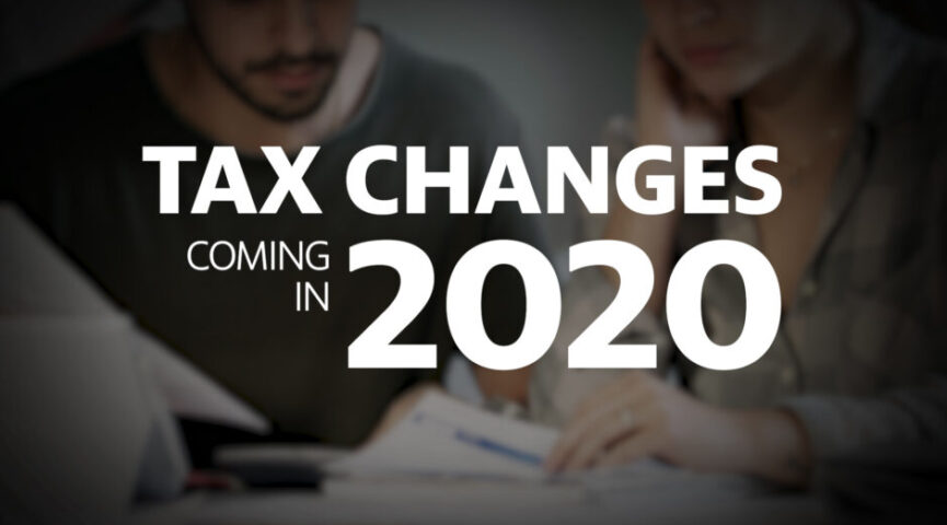 Major Tax Changes in India from 1st October 2020